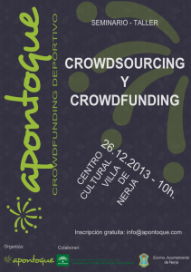 Crowdfunding en Nerja